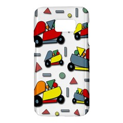 Toy cars pattern Samsung Galaxy S7 Hardshell Case