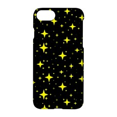 Bright Yellow   Stars In Space Apple Iphone 7 Hardshell Case