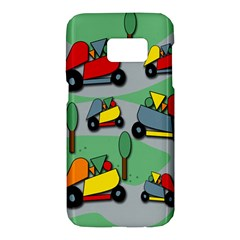 Toy car pattern Samsung Galaxy S7 Hardshell Case