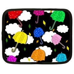 Umbrellas 2 Netbook Case (large)