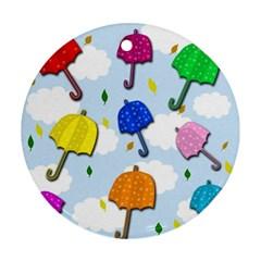 Umbrellas  Ornament (Round)