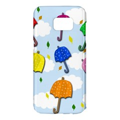 Umbrellas  Samsung Galaxy S7 Edge Hardshell Case