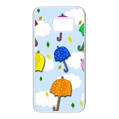Umbrellas  Samsung Galaxy S7 White Seamless Case