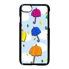 Umbrellas  Apple Iphone 7 Seamless Case (black)