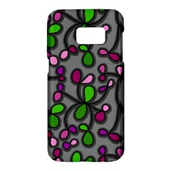 Floral pattern Samsung Galaxy S7 Hardshell Case