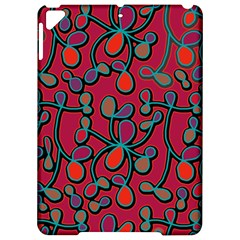 Red floral pattern Apple iPad Pro 9.7   Hardshell Case