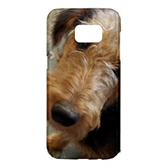Airedale Terrier 2 Samsung Galaxy S7 Edge Hardshell Case