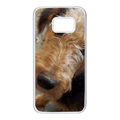Airedale Terrier 2 Samsung Galaxy S7 White Seamless Case