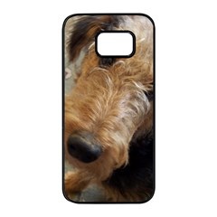 Airedale Terrier 2 Samsung Galaxy S7 edge Black Seamless Case