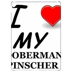 Doberman Love Apple iPad Pro 12.9   Hardshell Case