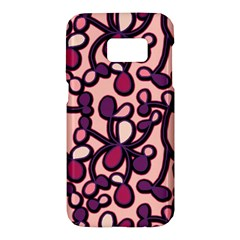 Pink And Purple Pattern Samsung Galaxy S7 Hardshell Case