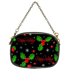 Happy holidays pattern Chain Purses (Two Sides)