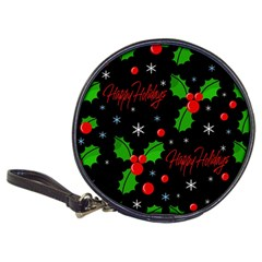 Happy holidays pattern Classic 20-CD Wallets