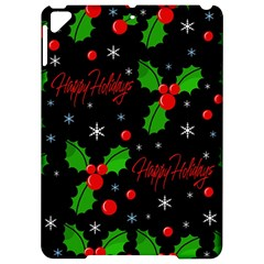 Happy holidays pattern Apple iPad Pro 9.7   Hardshell Case