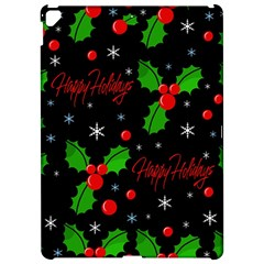 Happy holidays pattern Apple iPad Pro 12.9   Hardshell Case