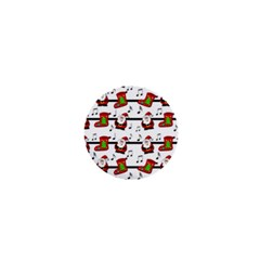Xmas song pattern 1  Mini Buttons