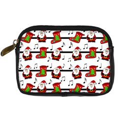 Xmas song pattern Digital Camera Cases