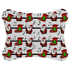 Xmas song pattern Jigsaw Puzzle Photo Stand (Bow)