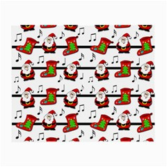 Xmas song pattern Small Glasses Cloth (2-Side)