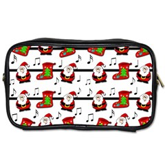 Xmas song pattern Toiletries Bags