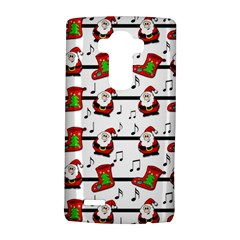 Xmas song pattern LG G4 Hardshell Case