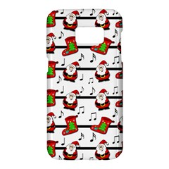 Xmas song pattern Samsung Galaxy S7 Hardshell Case
