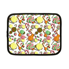 Xmas candy pattern Netbook Case (Small)