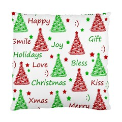 New Year pattern Standard Cushion Case (Two Sides)