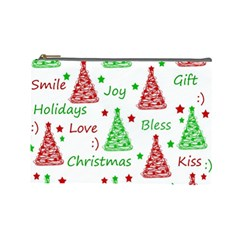 New Year pattern Cosmetic Bag (Large)