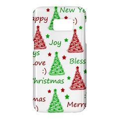 New Year pattern Samsung Galaxy S7 Hardshell Case