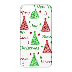 New Year Pattern Apple Iphone 7 Plus Hardshell Case