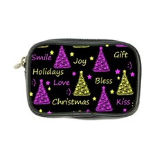 New Year Pattern   Yellow And Purple Coin Purse