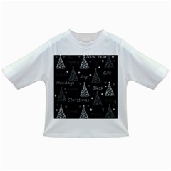 New Year pattern - gray Infant/Toddler T-Shirts