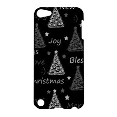 New Year Pattern   Gray Apple Ipod Touch 5 Hardshell Case