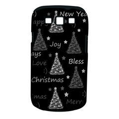 New Year Pattern   Gray Samsung Galaxy S Iii Classic Hardshell Case (pc+silicone)