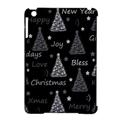 New Year Pattern   Gray Apple Ipad Mini Hardshell Case (compatible With Smart Cover)