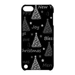 New Year Pattern   Gray Apple Ipod Touch 5 Hardshell Case With Stand
