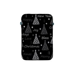 New Year Pattern   Gray Apple Ipad Mini Protective Soft Cases