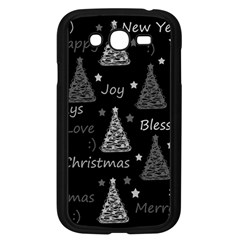 New Year Pattern   Gray Samsung Galaxy Grand Duos I9082 Case (black)