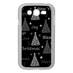 New Year Pattern   Gray Samsung Galaxy Grand Duos I9082 Case (white)