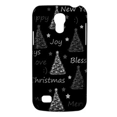 New Year Pattern   Gray Galaxy S4 Mini