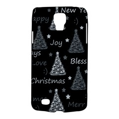 New Year Pattern   Gray Galaxy S4 Active