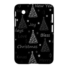 New Year Pattern   Gray Samsung Galaxy Tab 2 (7 ) P3100 Hardshell Case