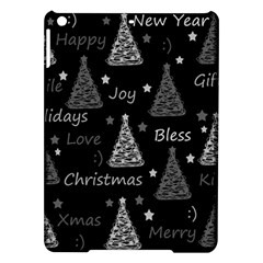 New Year Pattern   Gray Ipad Air Hardshell Cases