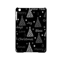 New Year Pattern   Gray Ipad Mini 2 Hardshell Cases