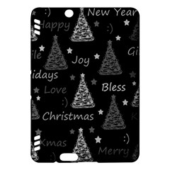 New Year Pattern   Gray Kindle Fire Hdx Hardshell Case
