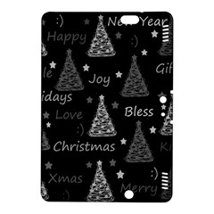 New Year Pattern   Gray Kindle Fire Hdx 8 9  Hardshell Case