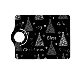 New Year Pattern   Gray Kindle Fire Hd (2013) Flip 360 Case