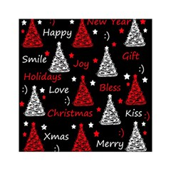 New Year Pattern   Red Acrylic Tangram Puzzle (6  X 6 )