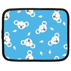 Blue Koala Netbook Case (large)
